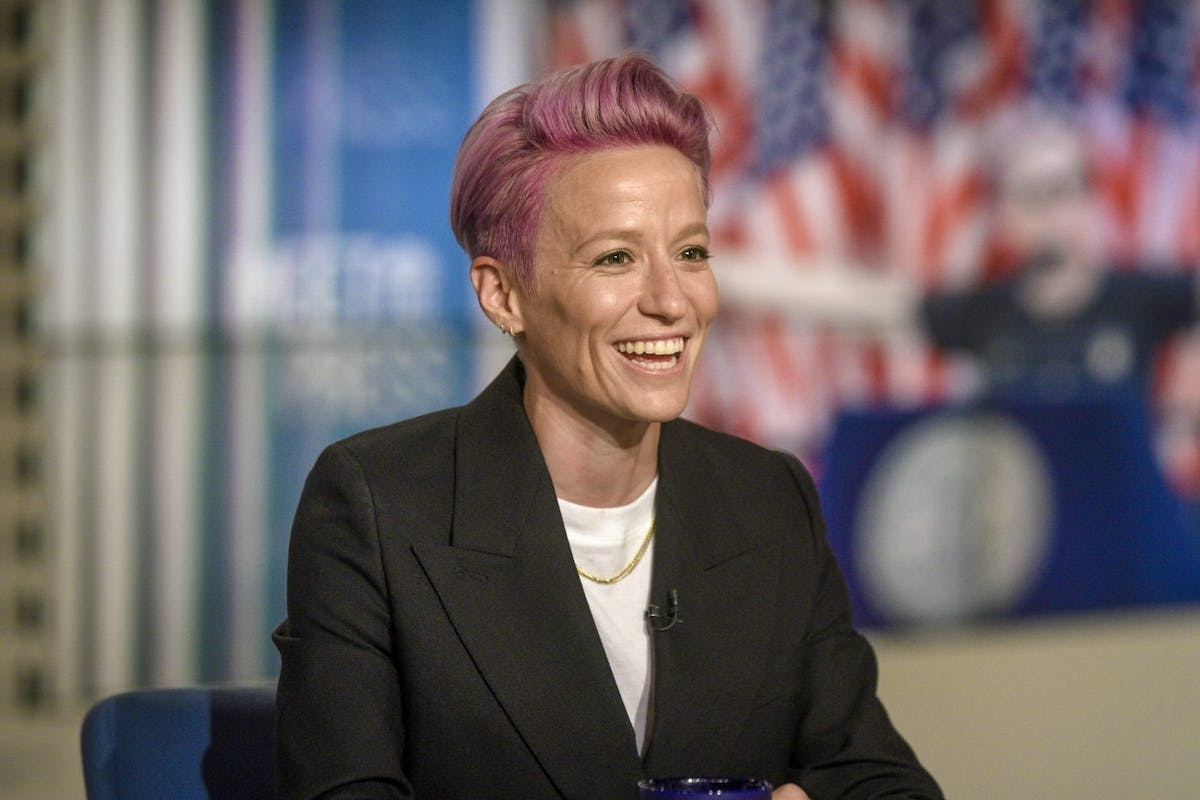 Megan Rapinoe, World Cup champion and U.S. women's national soccer team co-captain