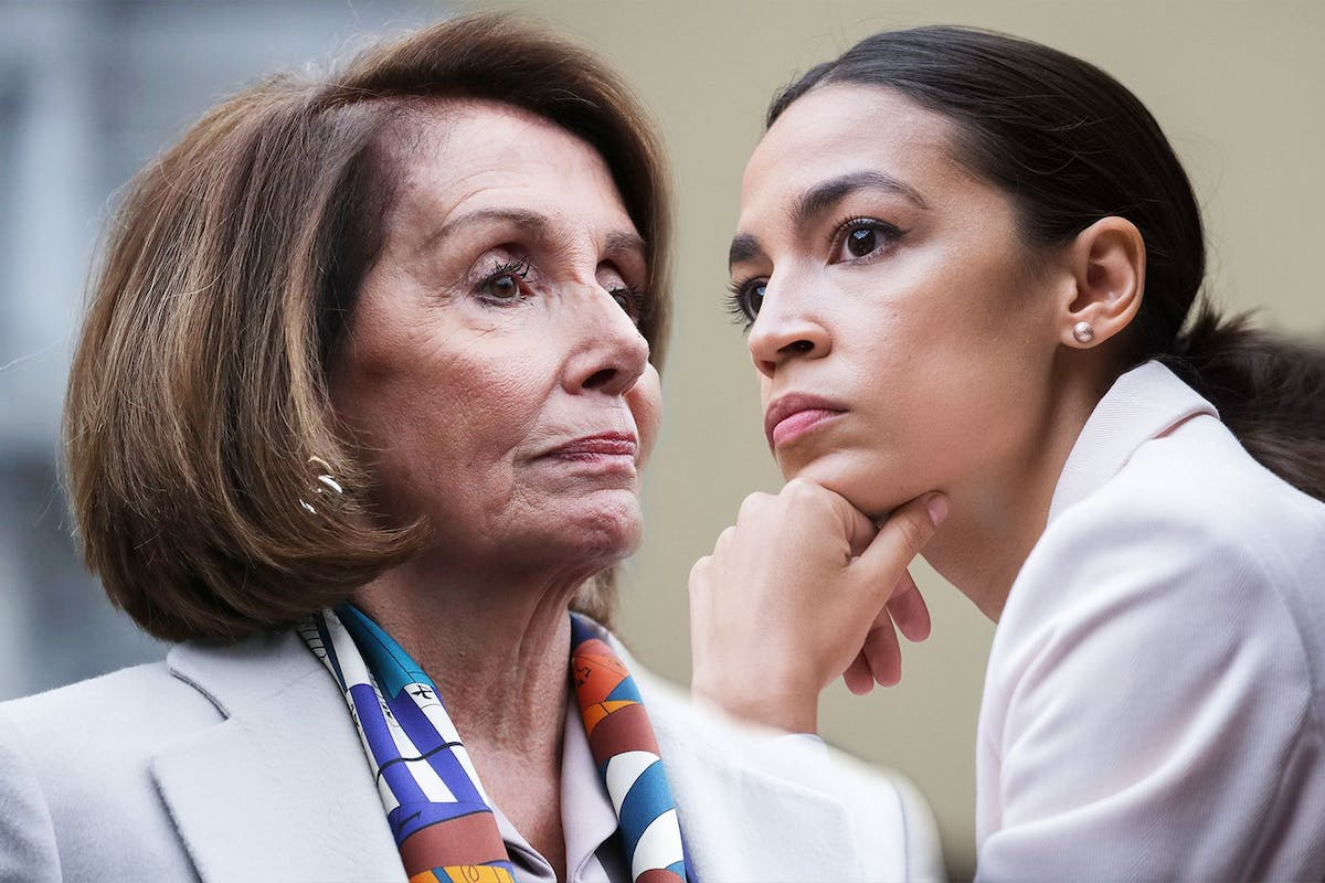 Alexandria Ocasio-Cortez and Nancy Pelosi aren't feuding, so let's not get distracted by Trump's story