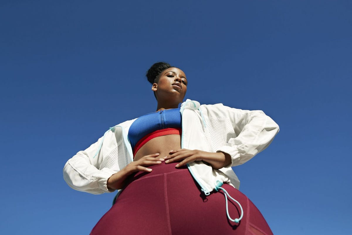 Woman wearing activewear