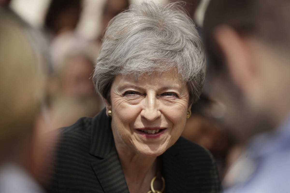 Theresa May launches domestic abuse bill
