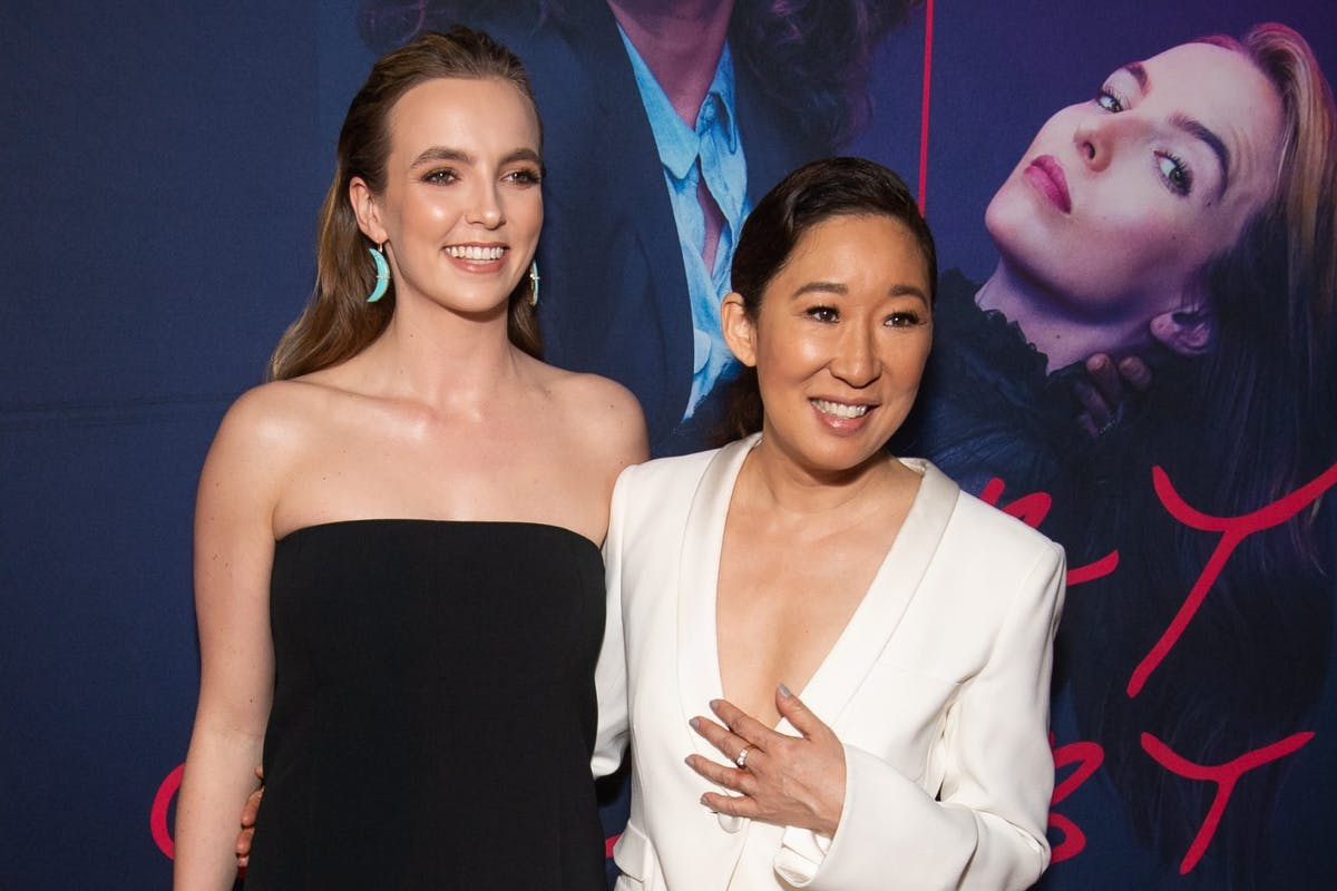 "No, Killing Eve's Jodie Comer isn't about to ""battle it out"" with Sandra Oh"