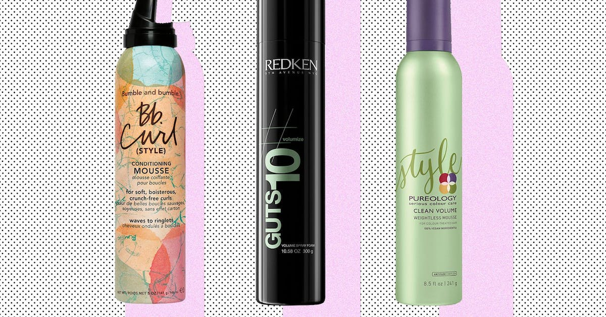 """Non-crispy, non-sticky, curl-friendly hair mousse does exist – I've found it"""