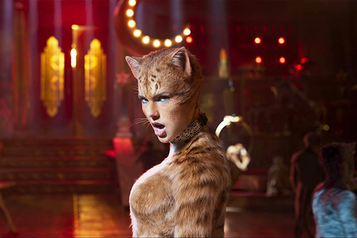Taylor Swift in the Cats movie trailer