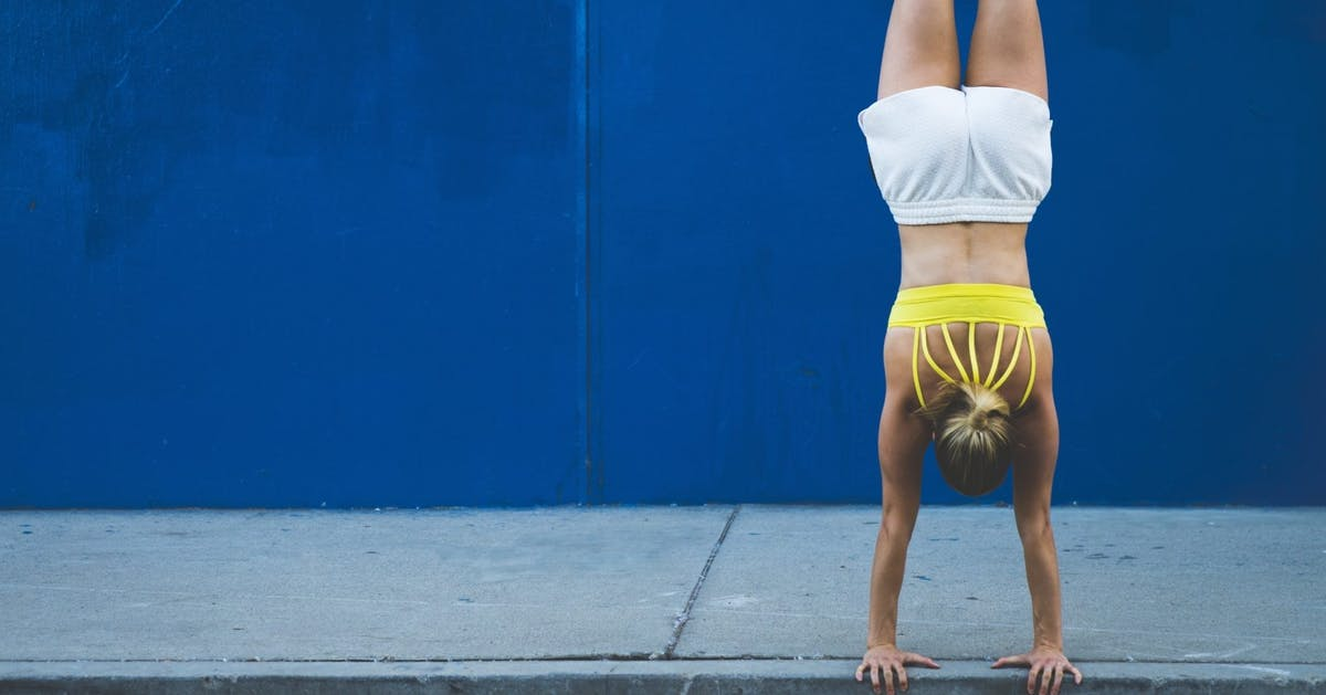 Why everyone should learn to do a handstand (and how to do it)