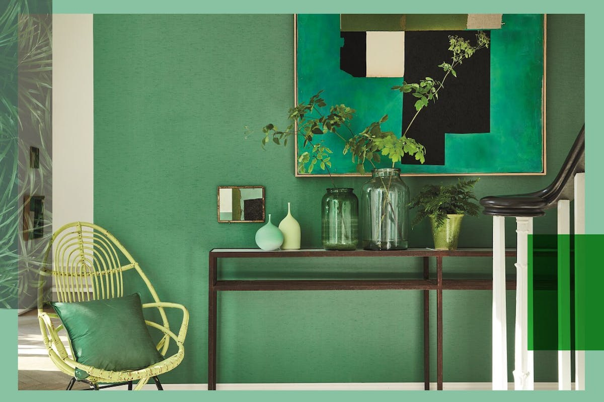 4 ways to nail the green interiors trend that's all over Instagram