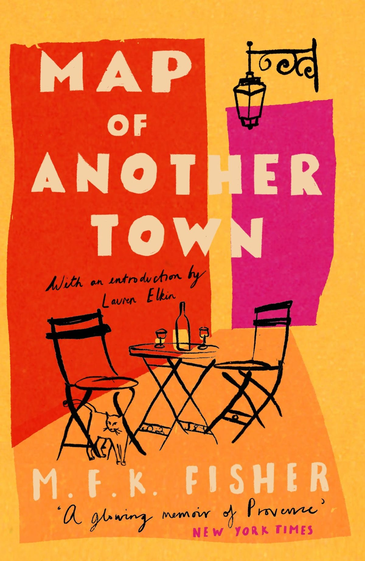 Map of Another Town by MFK Fisher