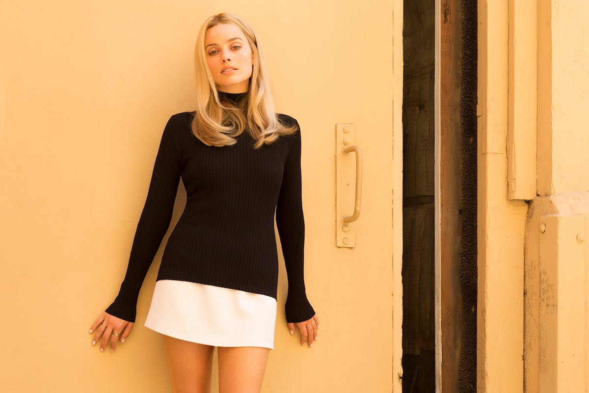 Margot Robbie as Sharon Tate