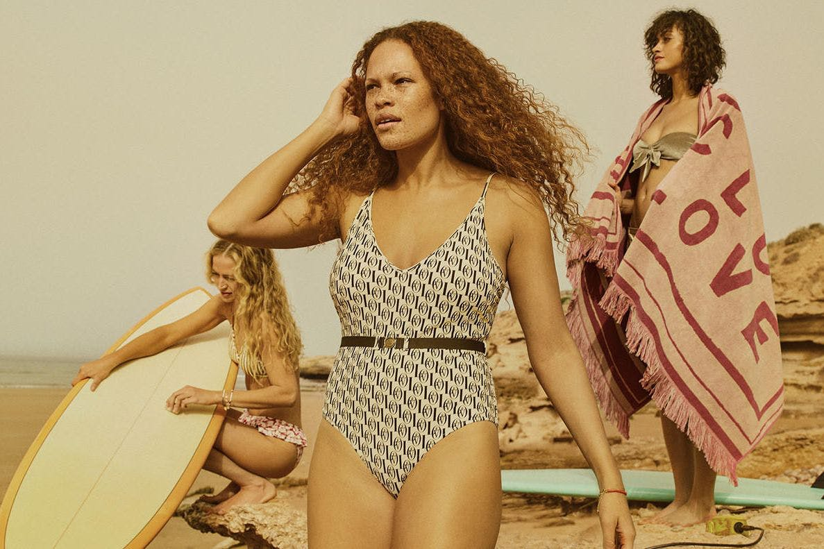 H&M Love Stories swimwear collaboration