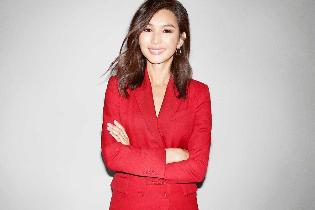 Actor Gemma Chan in photoshoot