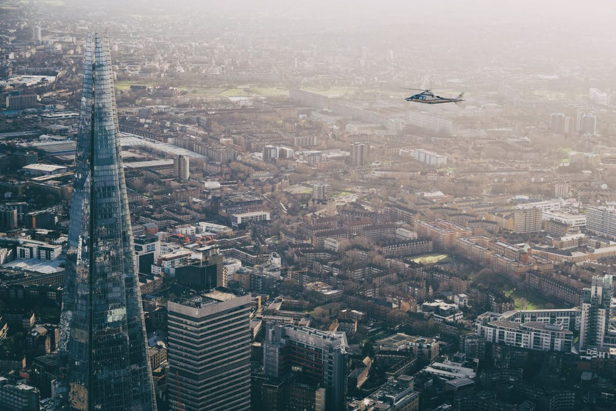 This helicopter restaurant is London's wildest new dining experience