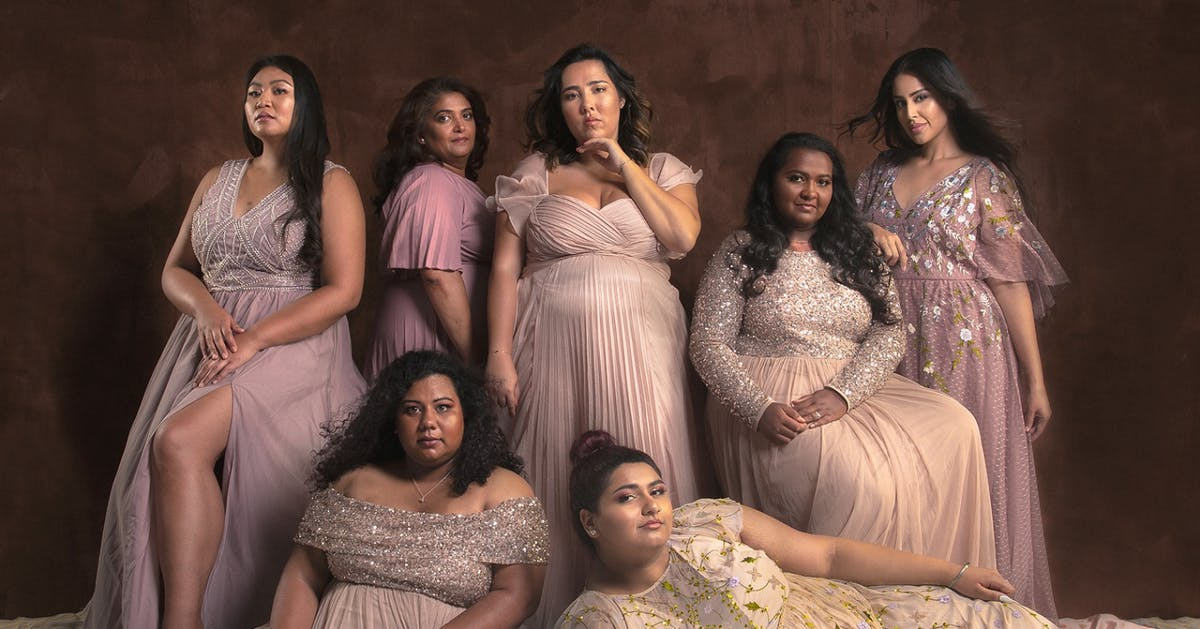 The plus-size Asian women behind that viral photo have a powerful message for us all