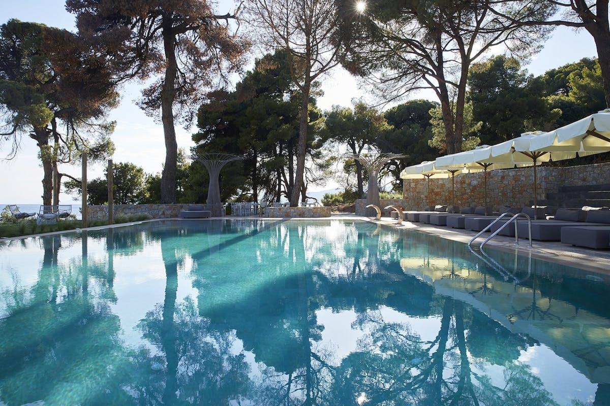 Nest pool at Elivi Skiathos