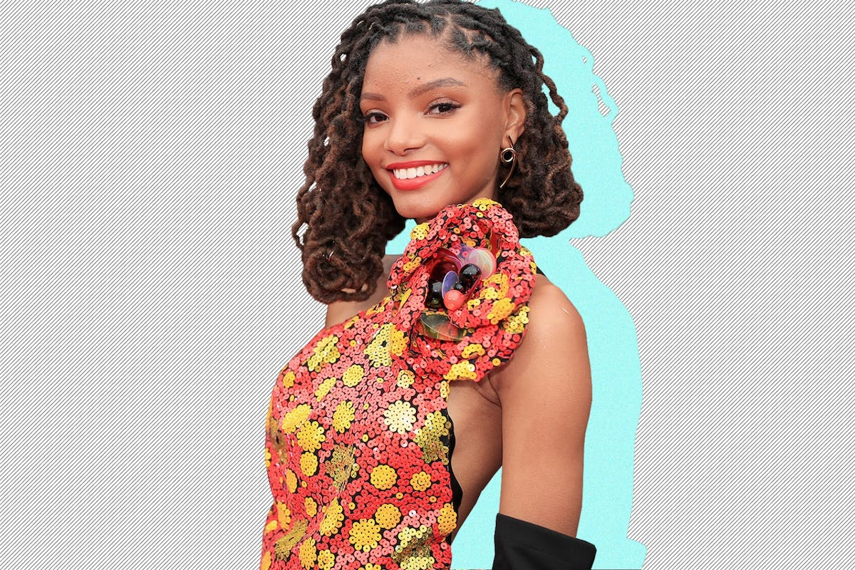 Halle Bailey who is playing Ariel in Little Mermaid Live Action Remake