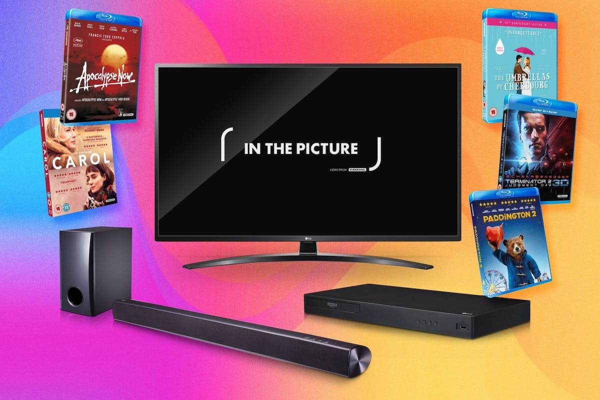 Win LG TV, Blu-ray player and soundbar plus iconic films