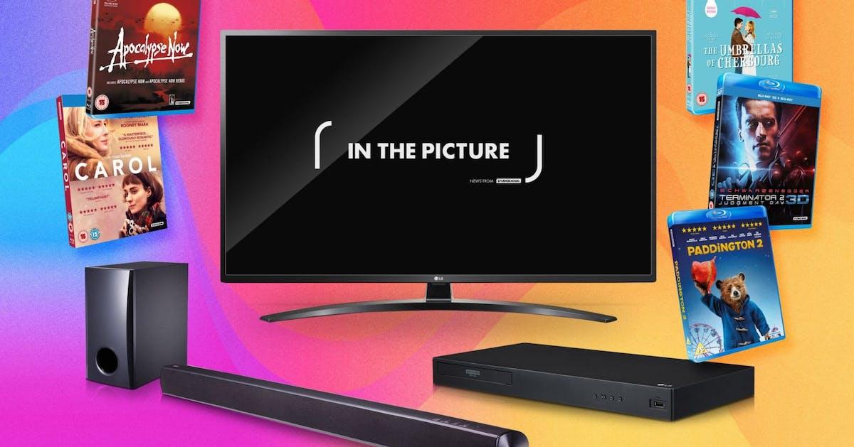 Win LG TV, Blu-ray player and soundbar plus iconic films with STUDIOCANAL