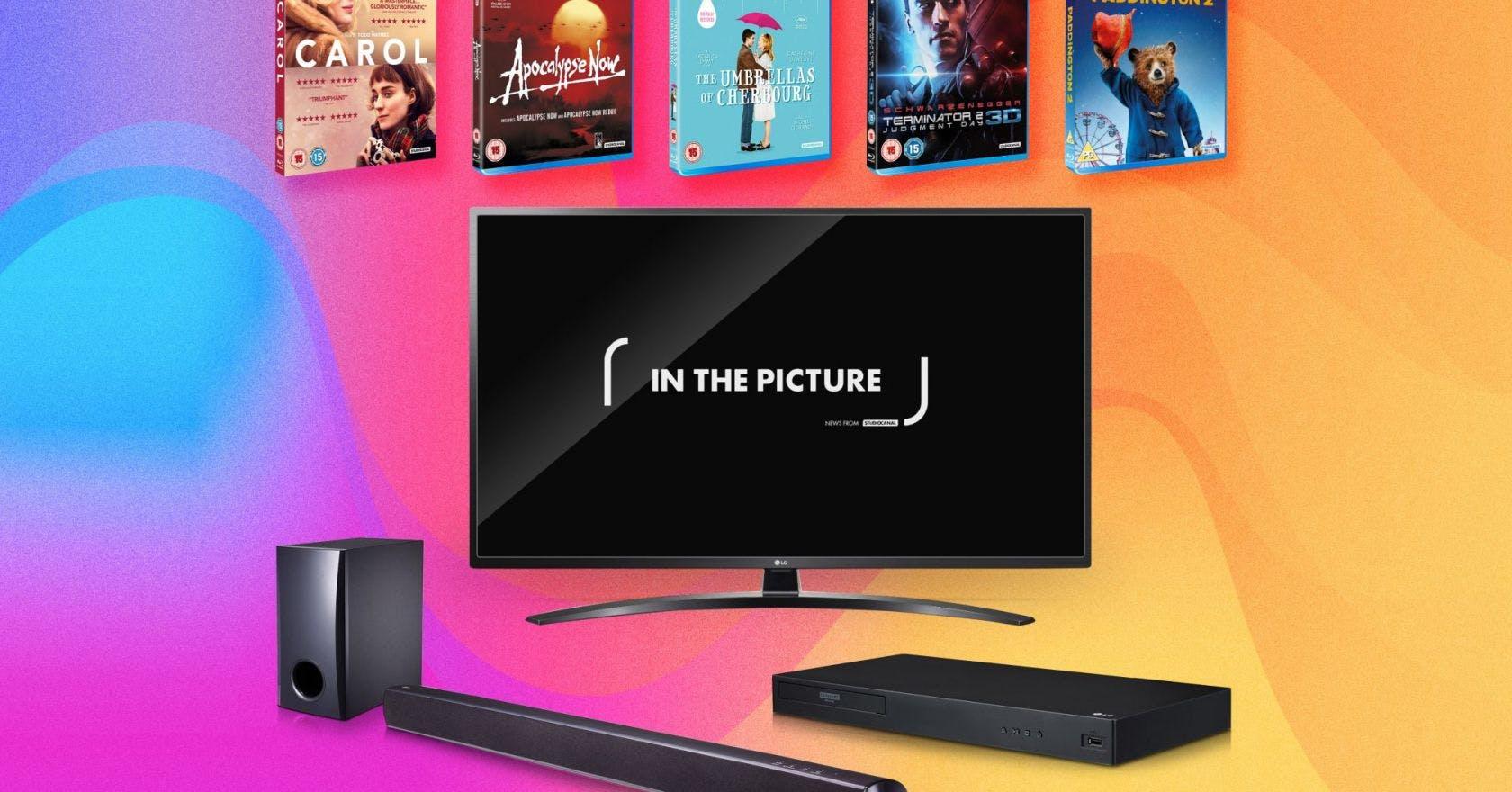 Win LG TV, Blu-ray player and soundbar plus iconic films