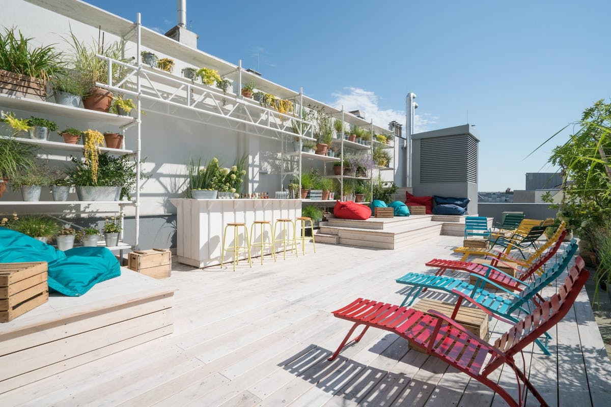 Ruby Marie hotel rooftop in Vienna