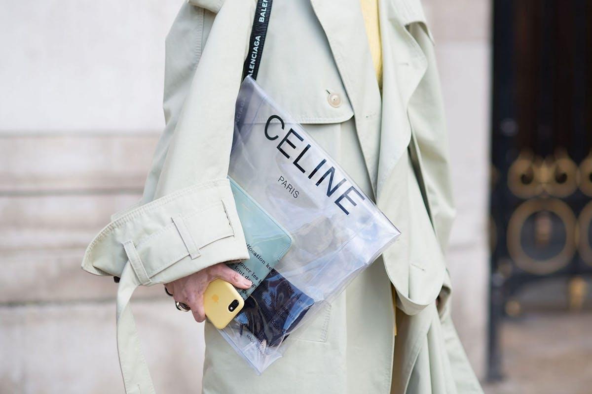Celine just teased a new fragrance collection by Hedi Slimane