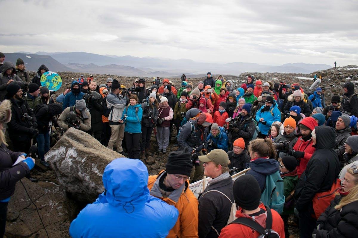 Iceland's glacier funeral