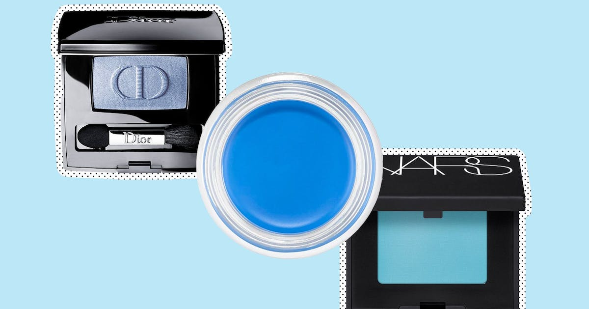 Is baby blue eyeshadow summer's most unlikely beauty hit?