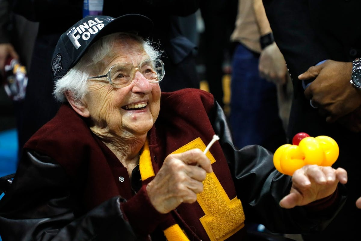 This 100-year-old basketball-loving nun has the secret to a long and happy life