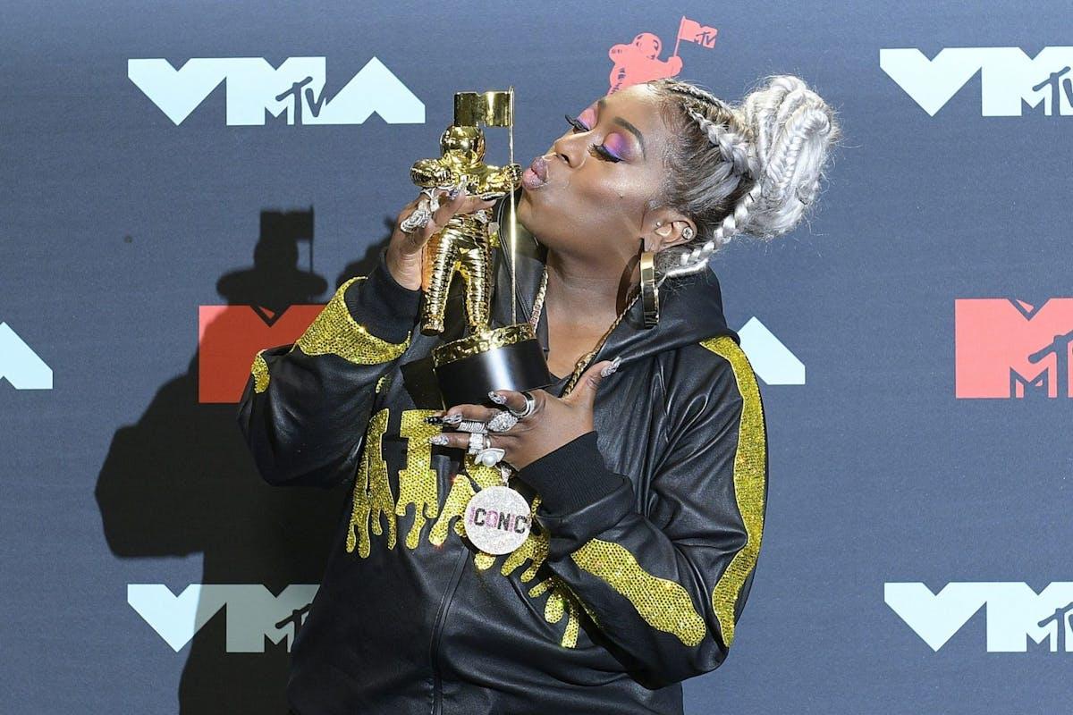 Missy Elliot at the VMAs