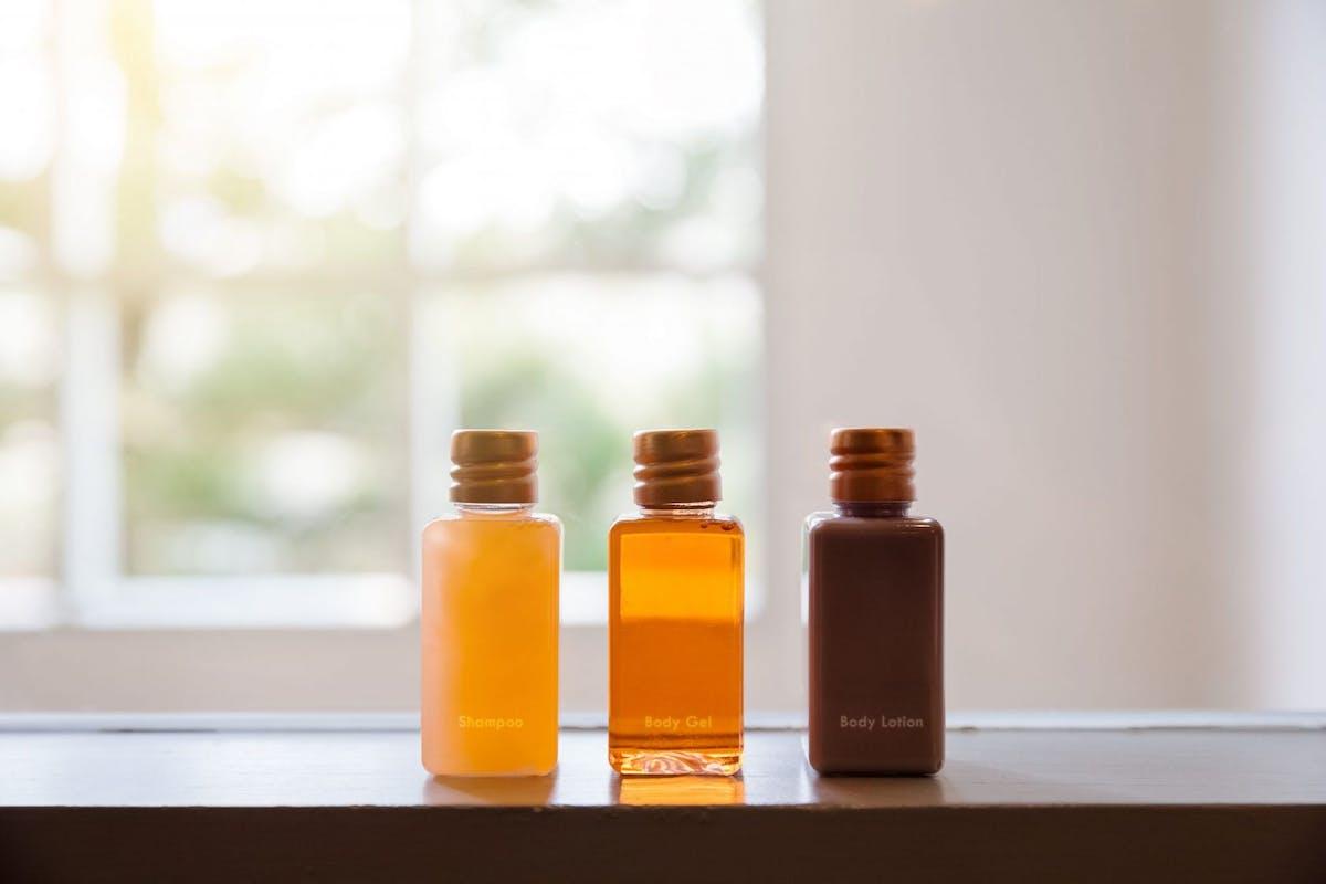 Marriott hotel bans plastic bottles in bathrooms