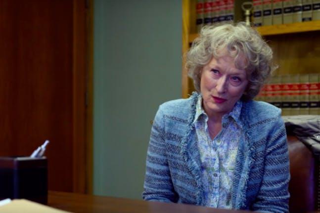 The Laundromat with Meryl Streep.