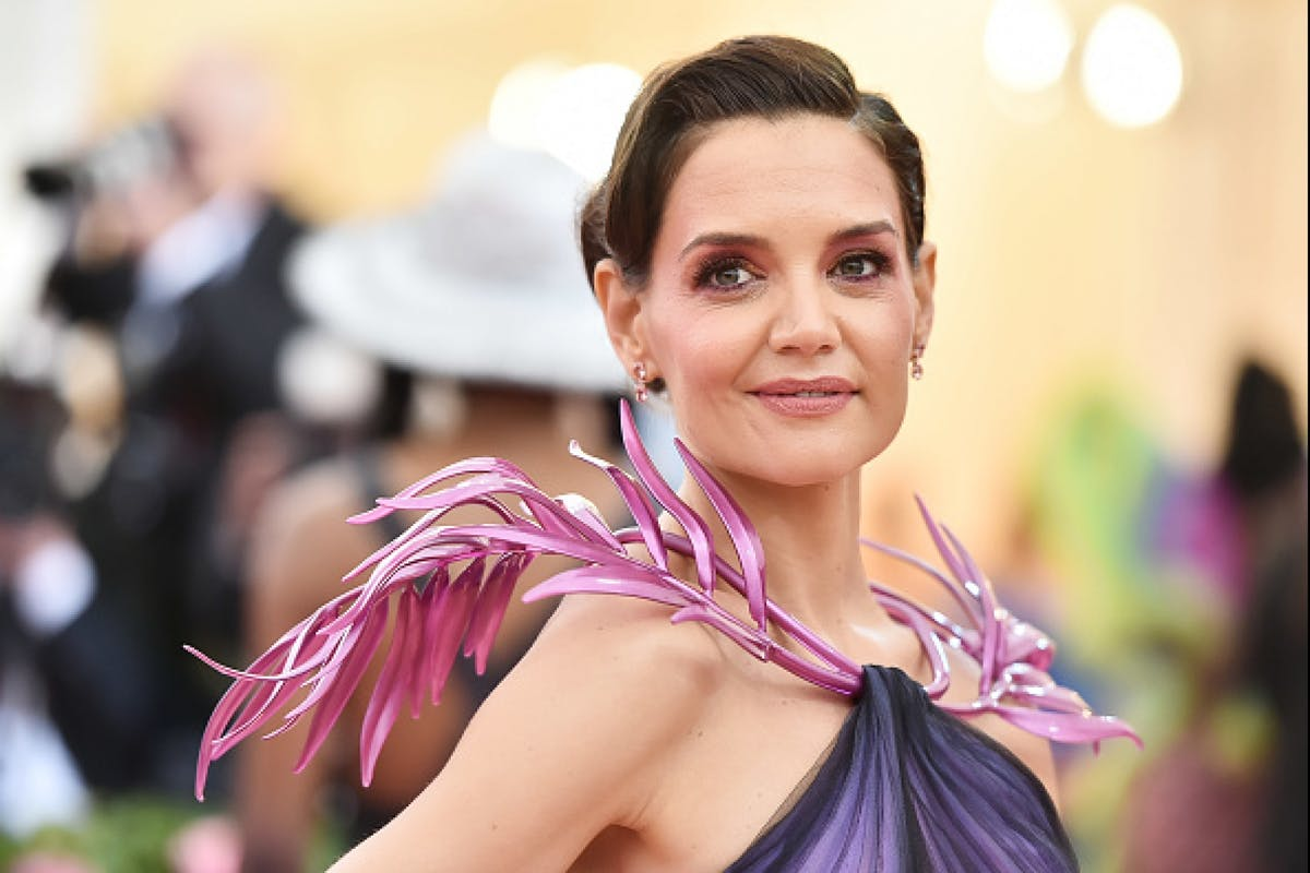 Katie Holmes attends the Met Gala / Getty
