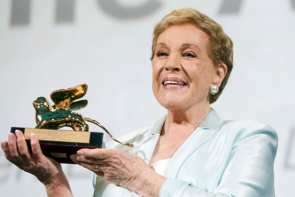 Julie Andrews Venice Film Festival