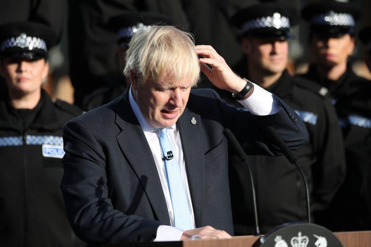 Please leave my town Boris Johnson
