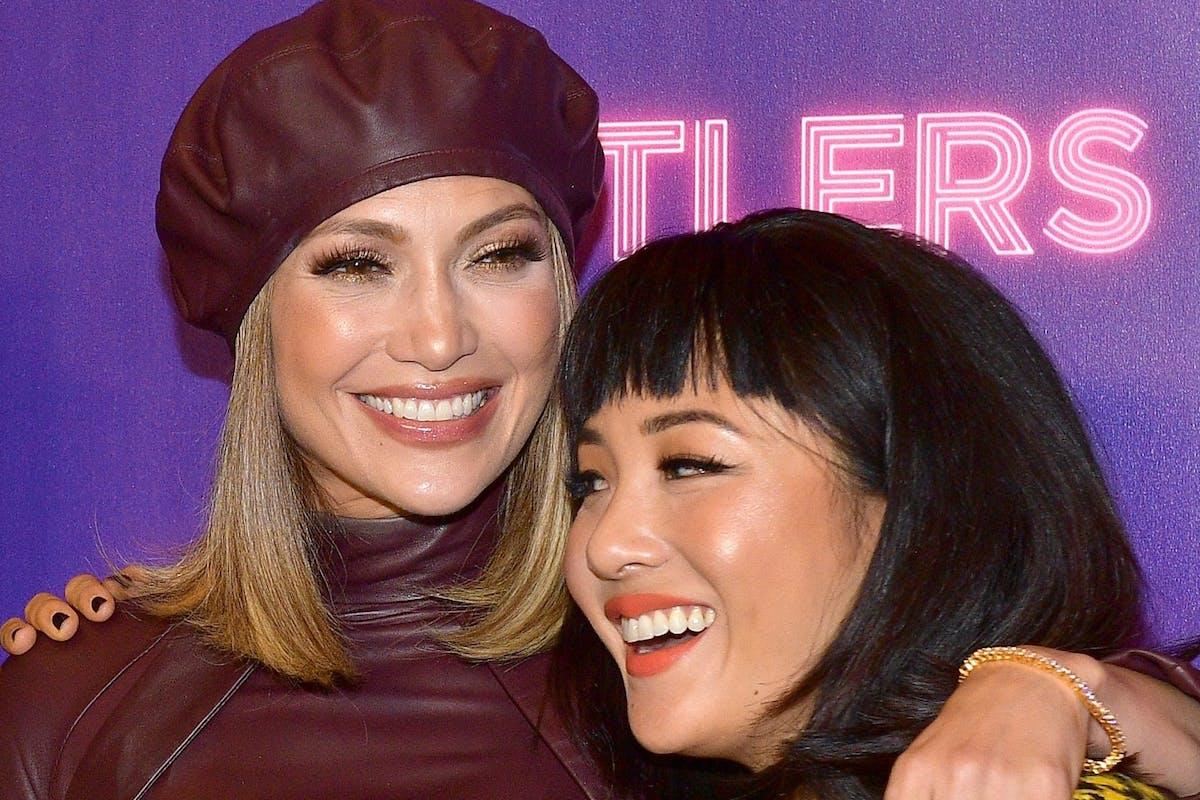 Constance Wu with Jennifer Lopez