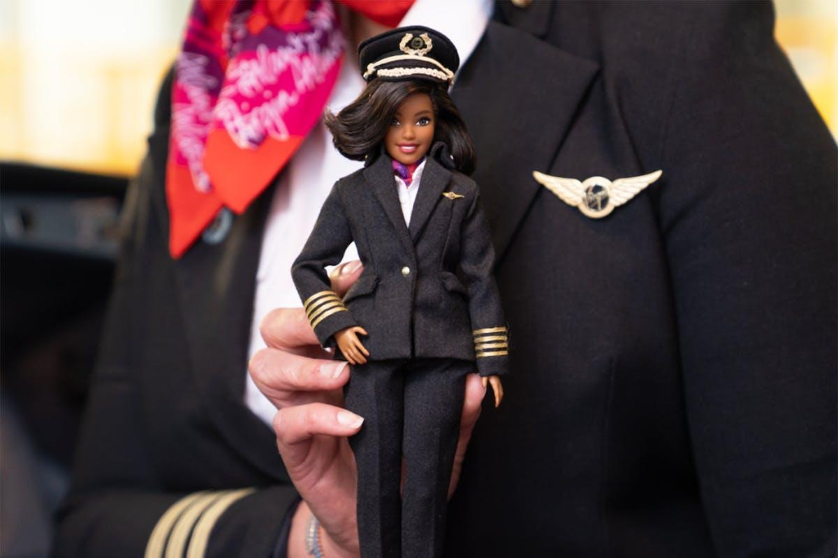 Barbie pilot doll