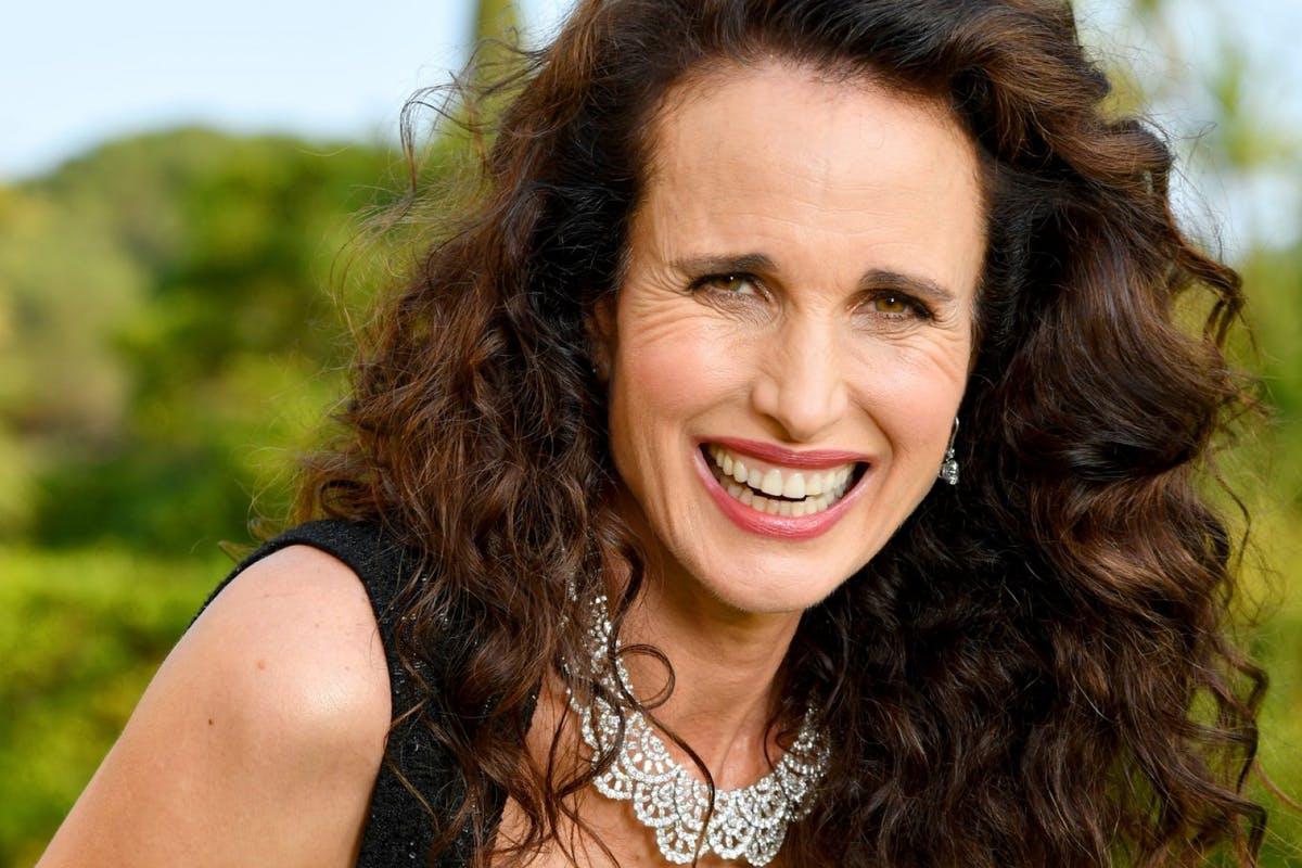 "Andie MacDowell has the perfect response to those ""you won't get any more work"" comments"