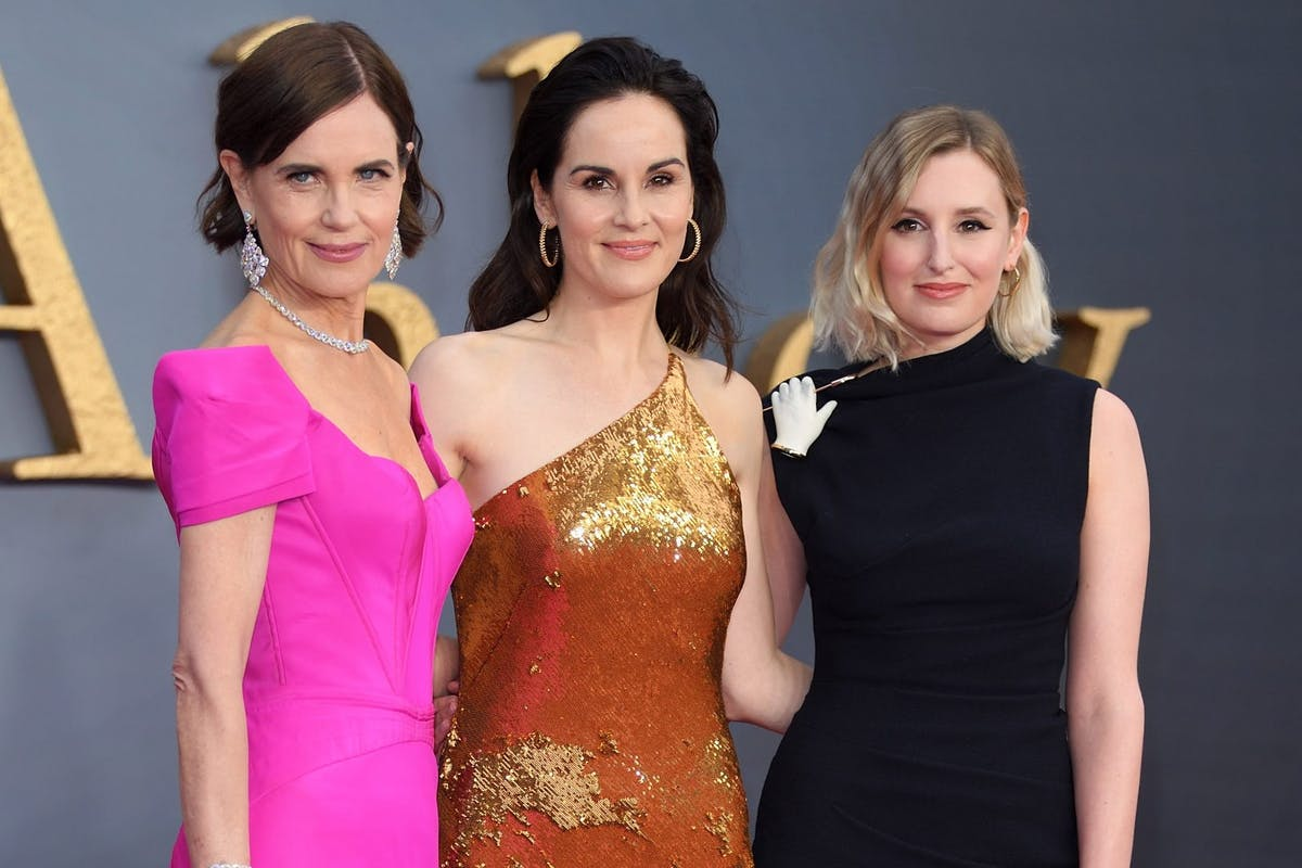 Downton Abbey: Laura Carmichael and Elizabeth McGovern