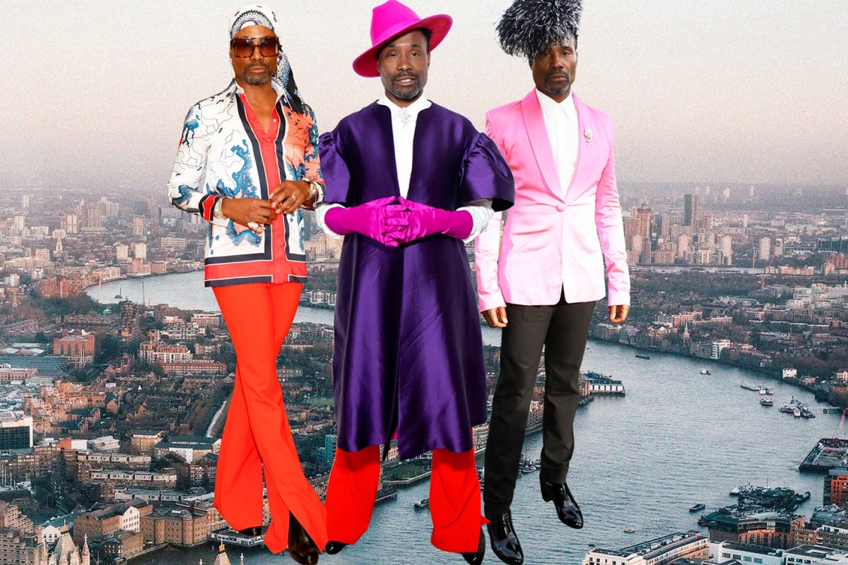 Billy Porter slays London Fashion Week with 7 outfit changes in under 48 hours