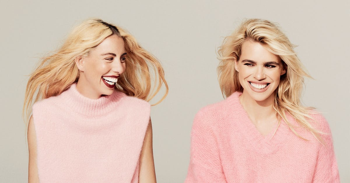 Billie Piper shows you how to wear pink for autumn