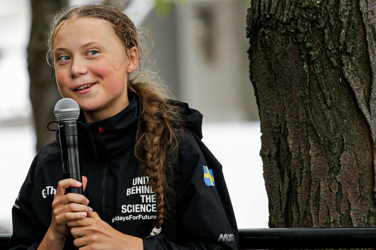 Greta Thunberg meets Barack Obama