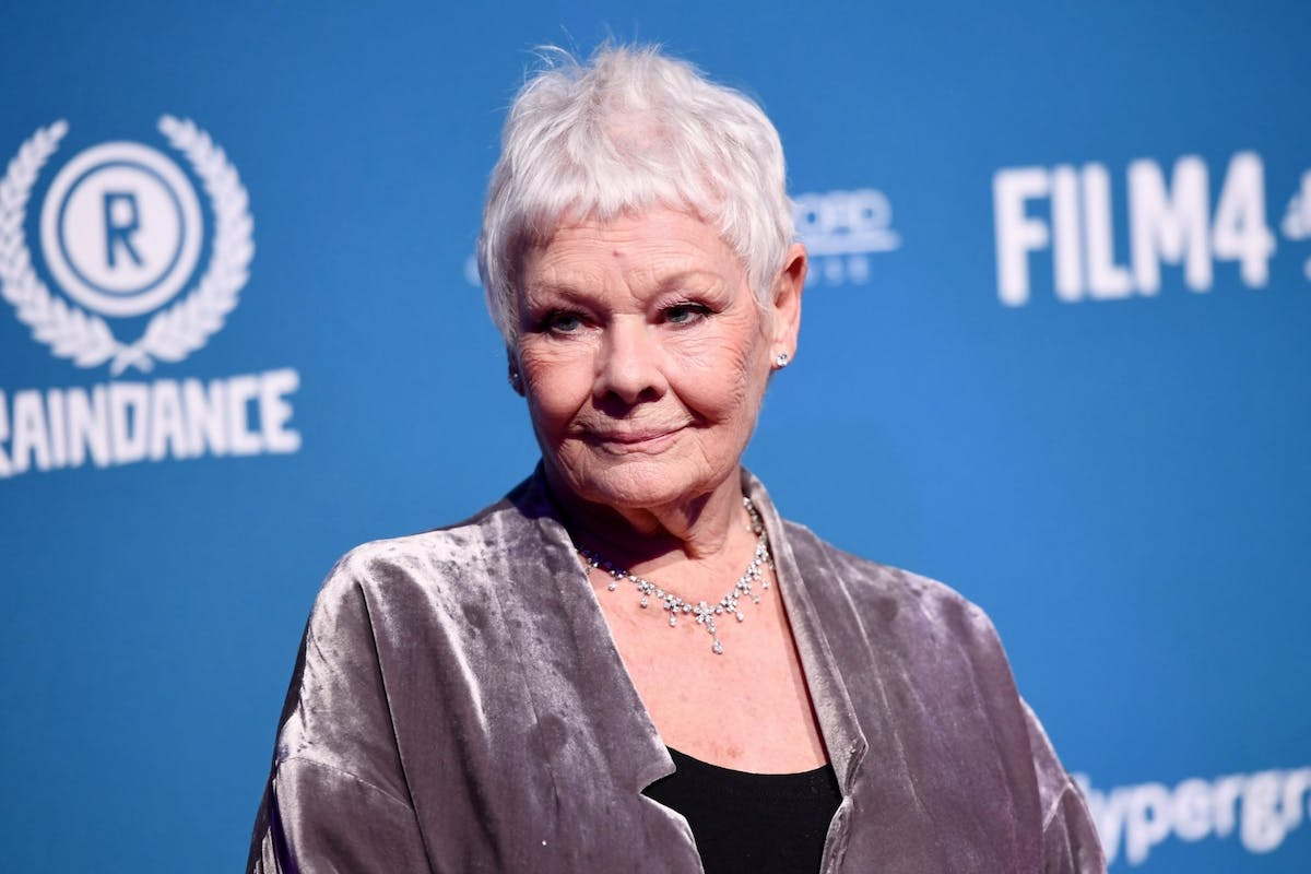 Judi Dench on the red carpet