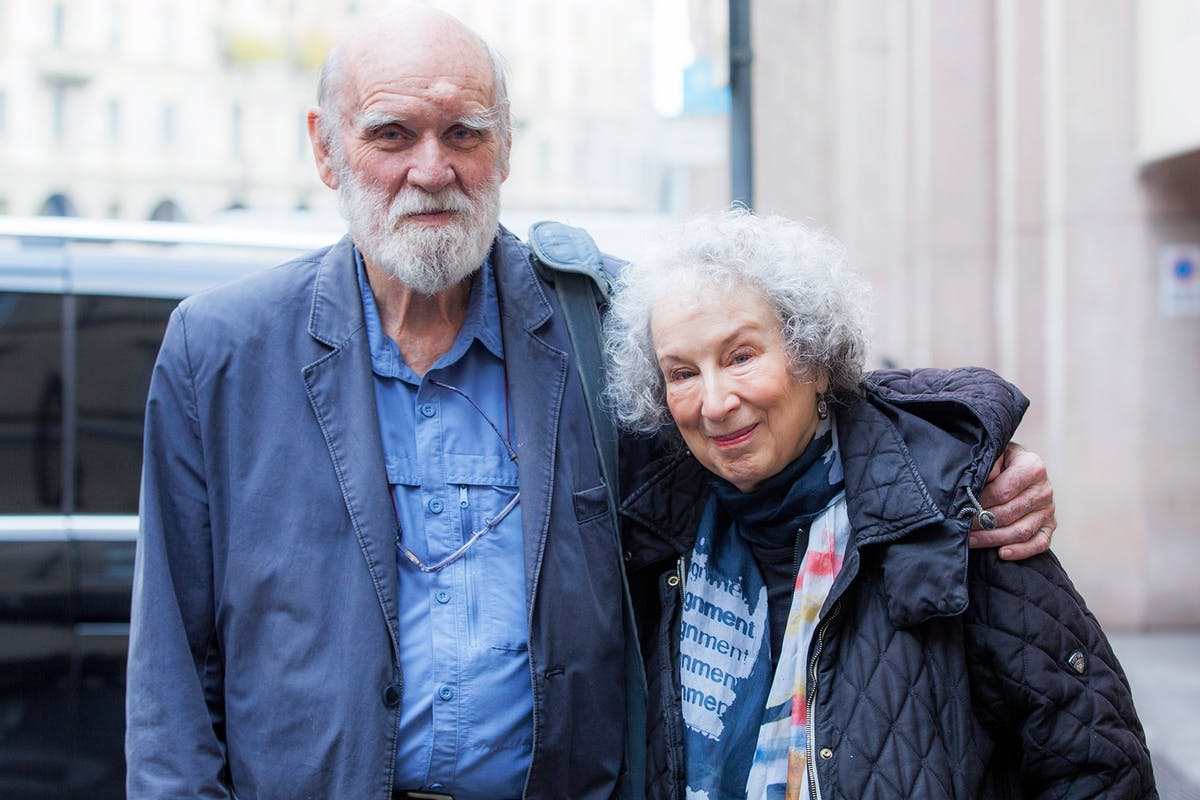 How Margaret Atwood found beauty and hope in her partner's sudden death