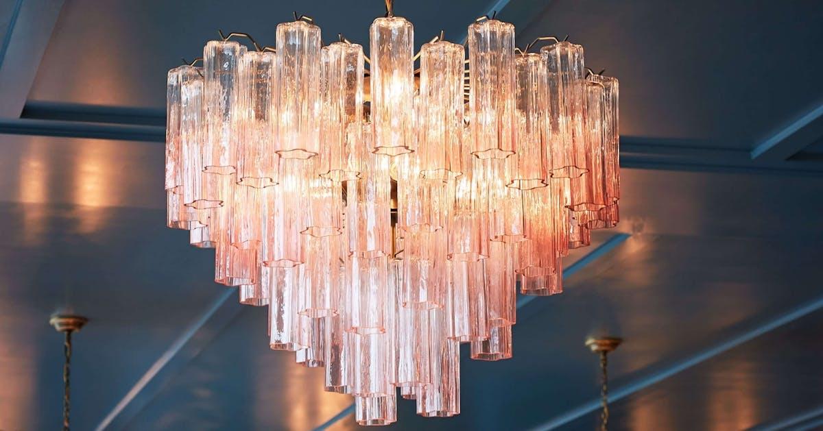 Millennial pink chandeliers: Shop the breakout home décor trend of autumn 2019