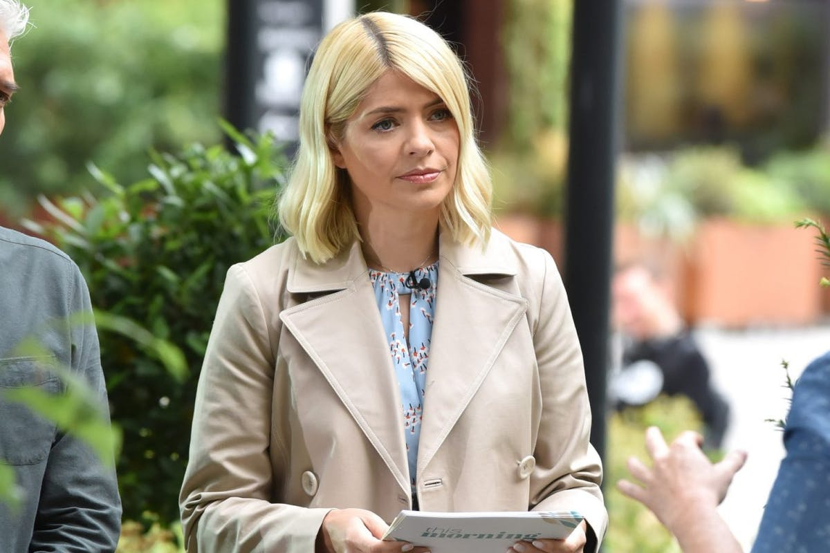 LONDON, ENGLAND - JUNE 18: Holly Willoughby seen at the ITV Studios on June 18, 2019 in London, England. (Photo by HGL/GC Images)