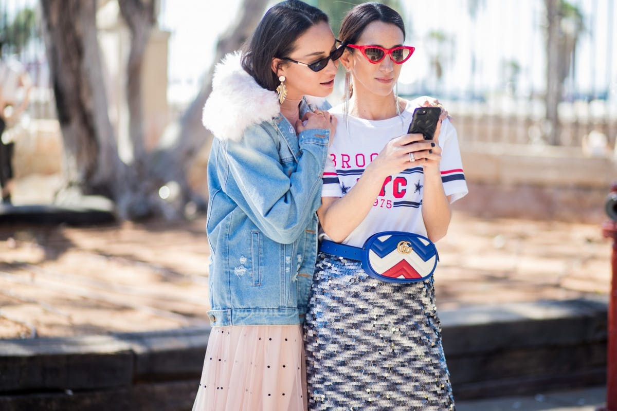 This fashion week Instagram account is going viral for all the right reasons