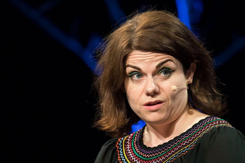 "Caitlin Moran really isn't here for this ""romantic"" viral birth video"