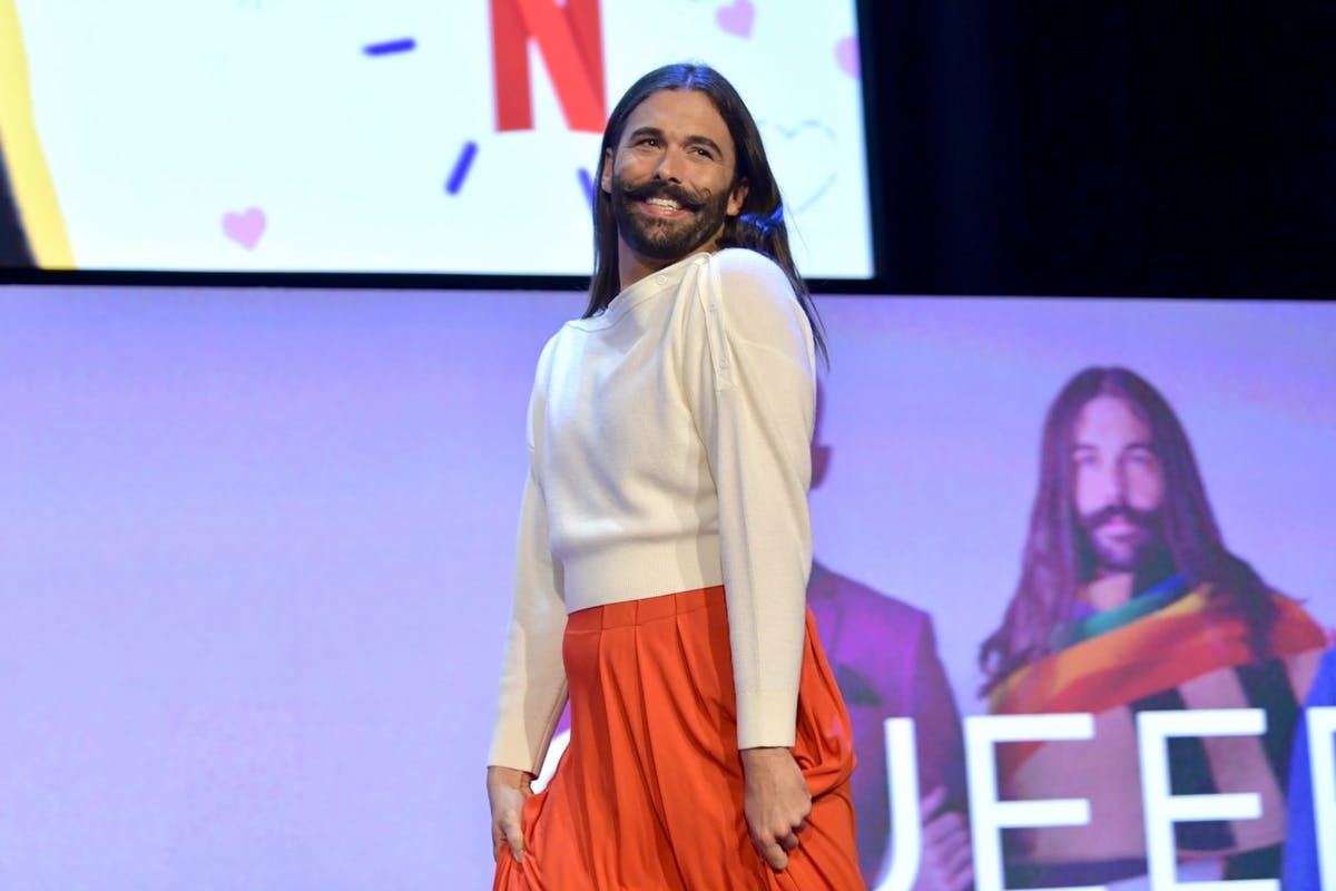 Queer Eye's Jonathan Van Ness receives influx of support after revealing he is living with H.I.V.