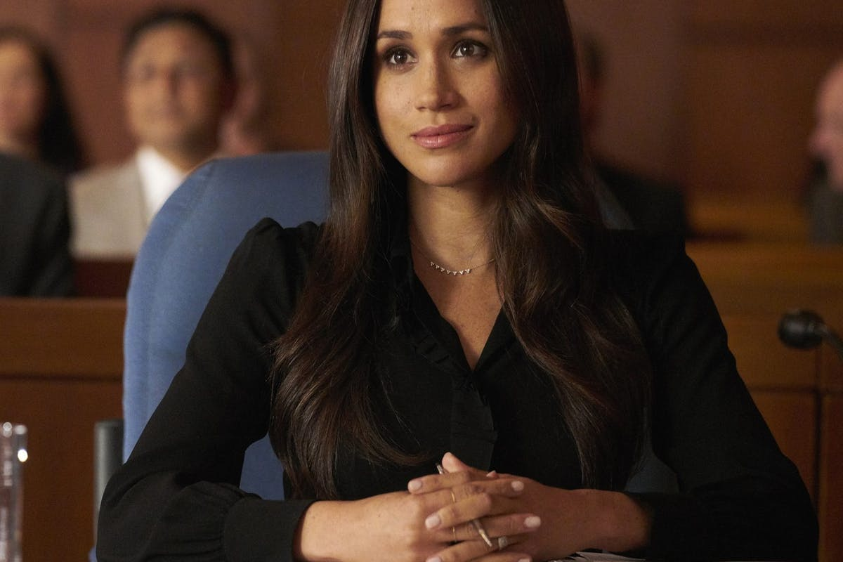 Patrick J. Adams just reminded everyone that Meghan Markle was a talented actor before becoming a royal