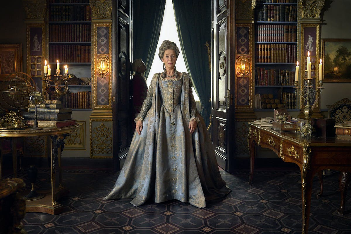 Catherine the Great stars Helen Mirren.