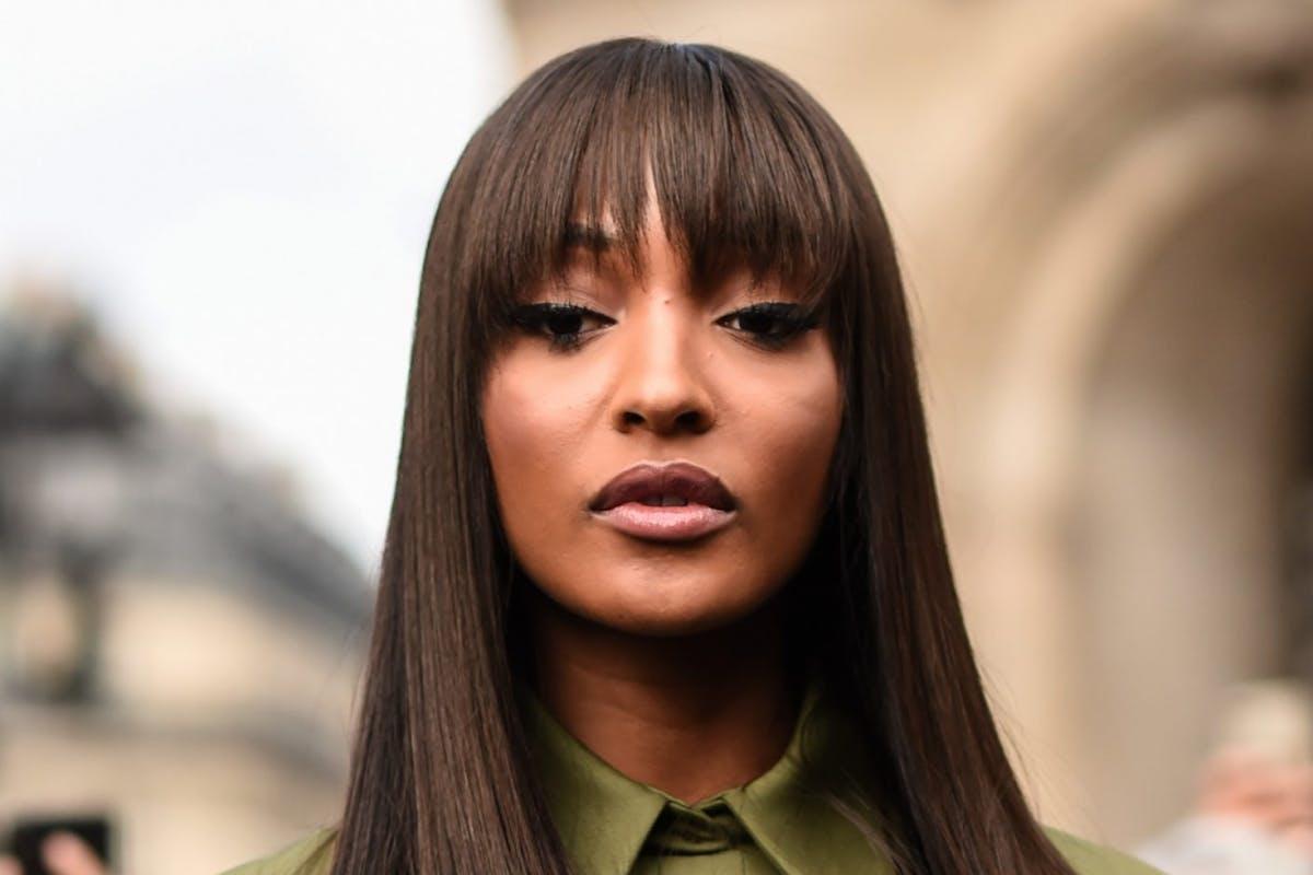 How blunt fringes took over Paris Fashion Week