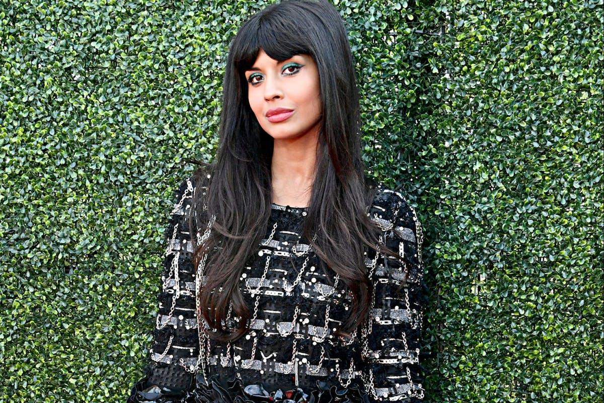 Jameela Jamil on the red carpet