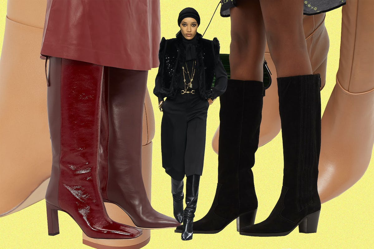 Celine's Hedi Slimane says knee boots are back - here are 5 pairs to wear now